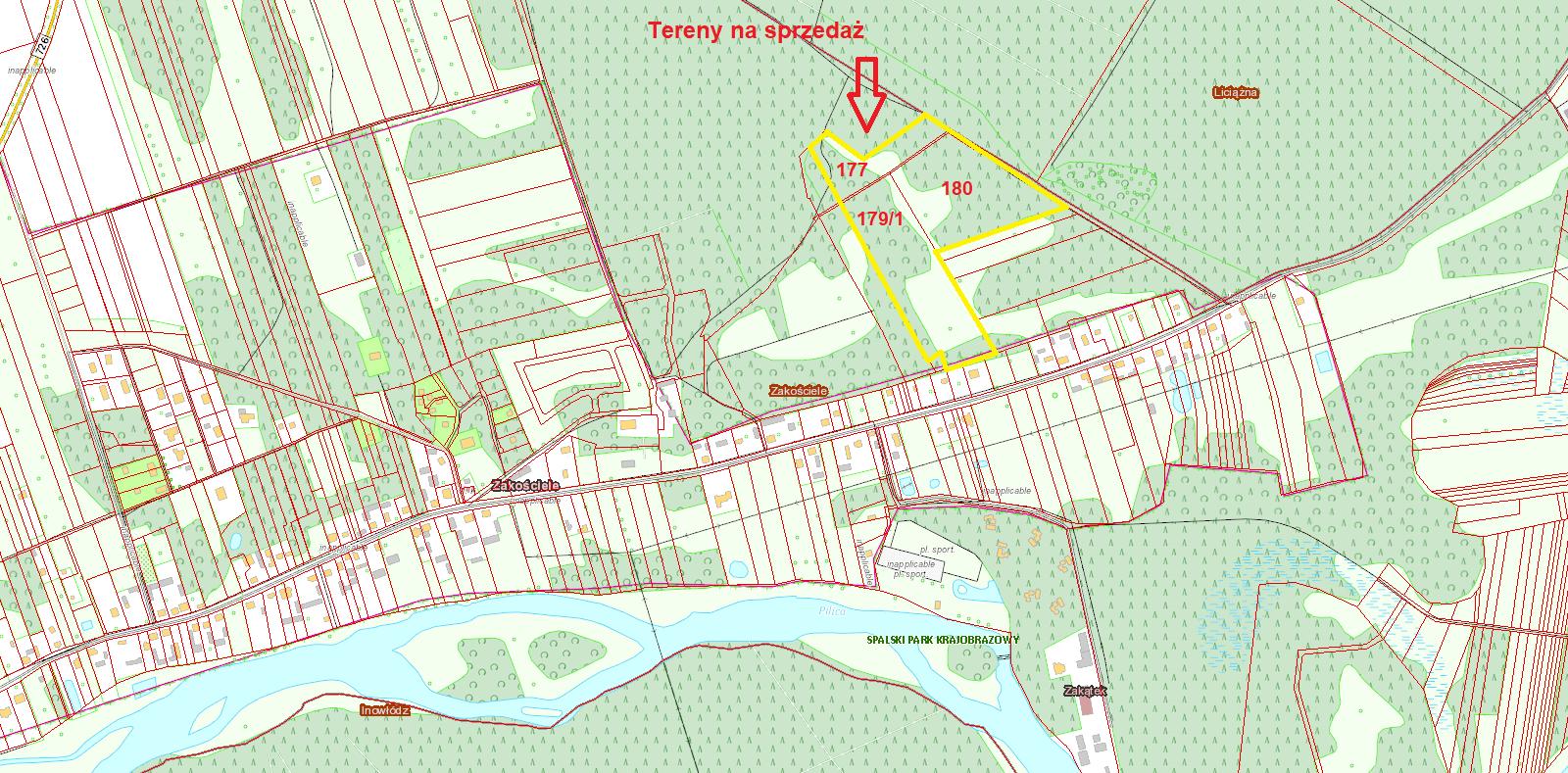 Widok Mapy